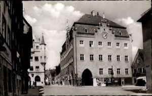 Ak Donauwörth in Schwaben, Rathaus