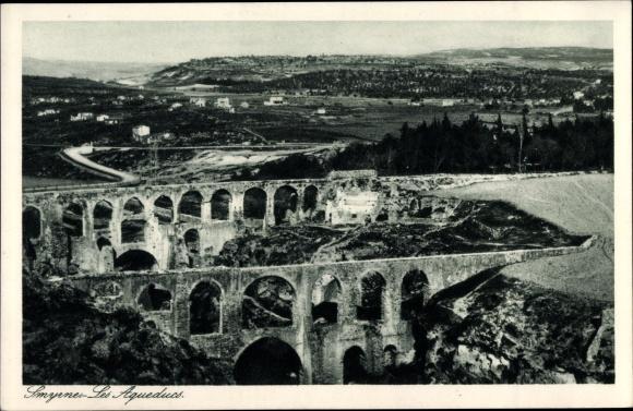 Ak Smyrna Izmir Türkei, Les Aqueducs