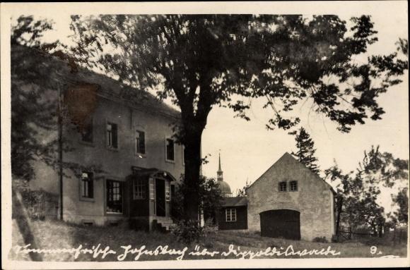 Foto Ak Johnsdorf Glashütte Osterzgebirge, Sommerfrische Jahnsberg