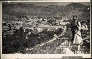 Ak Cetinje Montenegro, Gesamtansicht der Stadt