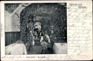 Ak Berlin Mitte, Kaiser Keller, Rosenlaube