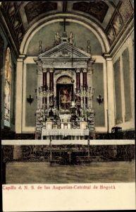 Ak Bogota Kolumbien, Capilla de N. S. de las Augustias, Catedral