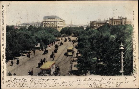 Ak Riga Lettland, Alexander Boulevard