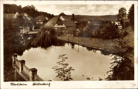 Ak Warstein im Kreis Soest Nordrhein Westfalen, Bullerteich
