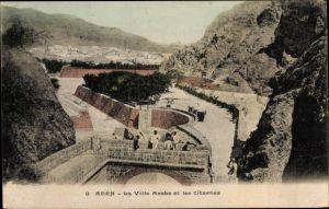 Ak Aden Jemen, La Villa Arabe et les Citernes