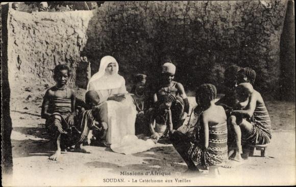 Ak Mali, Le Catechisme aux Vieilles, Missionarin