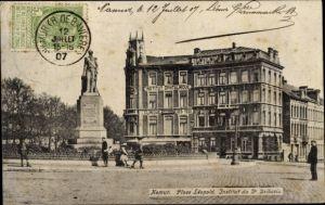 Ak Namur Wallonien, Place Léopold, Institut du de Bribosis