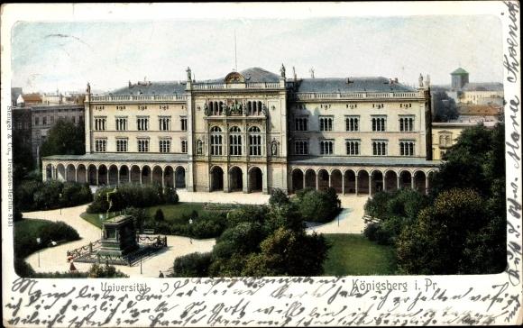 Ak Kaliningrad Königsberg Ostpreußen, Universität