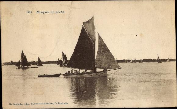 Ak Barques de peche, Fischerboote