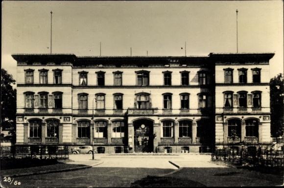 Ak Berlin Kreuzberg, Städtisches Krankenhaus am Urban, Verwaltungsgebäude