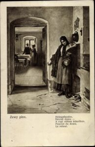 Künstler Ak Zewy, Heimgefunden