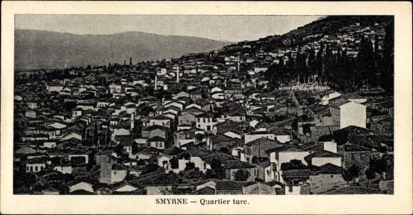 Ak Smyrna Izmir Türkei, Quartier turc