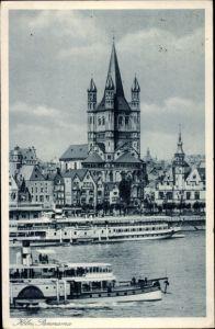 Ak Köln am Rhein, Blick auf das Stapelhaus