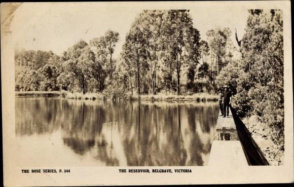 Ak Belgrave Victoria Australien, The Reservoir