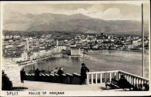 Ak Split Kroatien, Pogled sa Marjana, Panorama