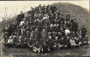 Ak Deutsche Kolonien, Mannschaft der von SMS Möwe versenkten feindlichen Dampfers