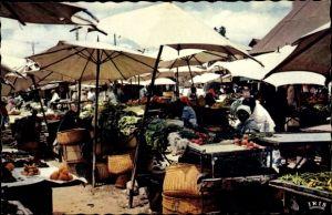 Ak Tananarive Madagaskar, Les beaux légumes du Zoma, Gemüsemarkt
