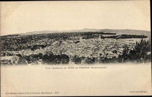 Ak Fort-de-France Martinique, Vue général du Fort-de-France
