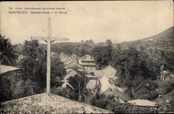 Ak Sainte-Luce Martinique, Le Bourg