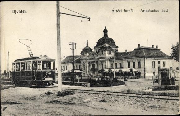 Ak Ujvidék Serbien, Ártézi fürdo, Artesisches Bad