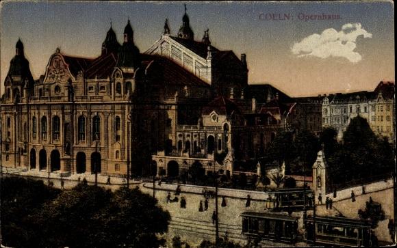 Ak Köln am Rhein, Opernhaus