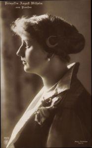 Ak Alexandra Viktoria von Schleswig Holstein Sonderburg Glücksburg