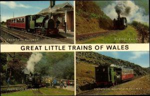 Ak Wales, Great little Trains, Tal-y-Llyn Railway, Rheidol Railway, Festiniog Railway, Snowdon