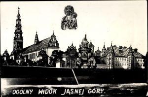 Foto Ak Częstochowa Tschenstochau Schlesien, Wikok Jasnej Gory