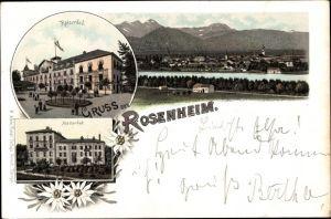 Vorläufer Litho Rosenheim im Alpenvorland Oberbayern, Kaiserbad, Marienbad