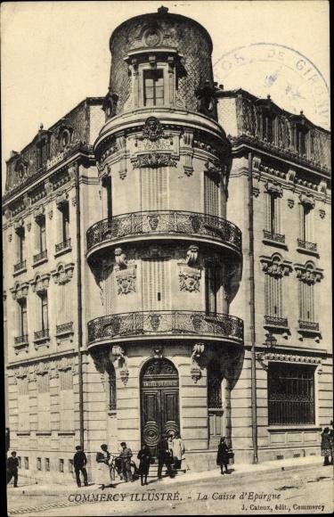 Ak Meuse, Commercy Illustre, La Caisse d'Epárgue