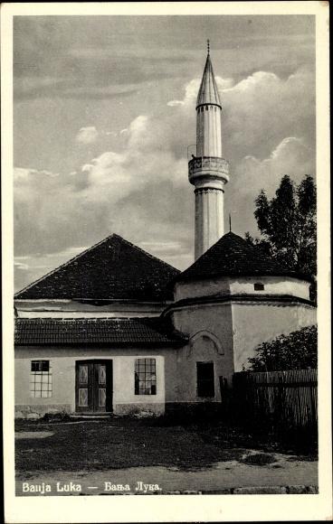 Ak Banja Luka Bosnien Herzegowina, Minarett