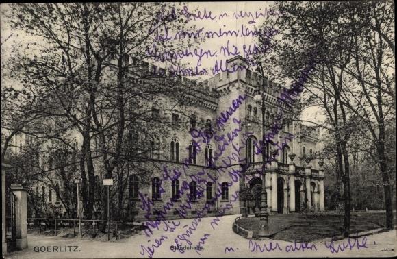 Ak Görlitz in der Lausitz, Ständehaus