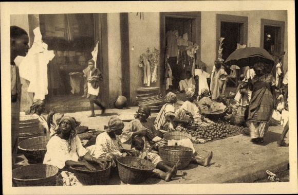 Ak Dakar Senegal, Marchandes Indigènes