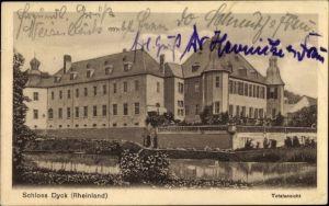 Ak Jüchen Rheinland, Schloss Dyk