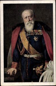 Künstler Ak Propheter, Otto, Großherzog Friedrich von Baden, Portrait