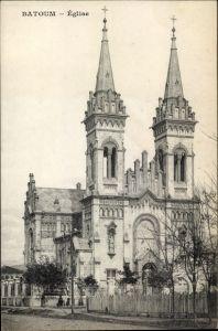 Ak Batumi Georgien, L'Église, Ansicht der Kirche