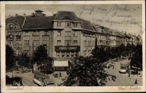 Ak Düsseldorf am Rhein, Garf Adolf Straße, Corso Cabaret