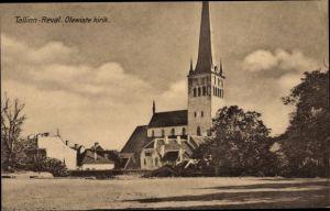 Ak Tallinn Reval Estland, Olewiste kirk