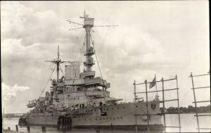 Foto Ak Deutsches Kriegsschiff, Kaiserliche Marine
