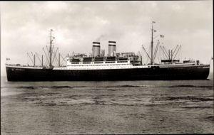 Ak Dampfschiff Hamburg, Hapag