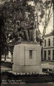 Ak Vaasa Vasa Westfinnland, Topelius stoden