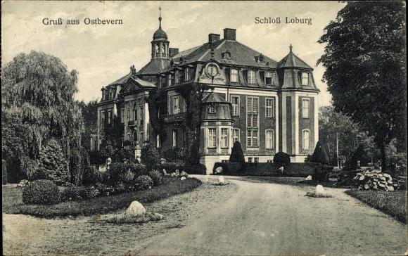 Ak Ostbevern, Schloss Loburg