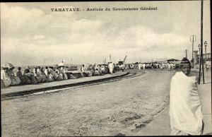 Ak Tamatave Toamasina Madagaskar, Arrivée du Gouverneur Général