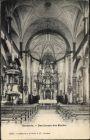 Ak Sachseln Kt. Obwalden Schweiz, Das Innere der Kirche