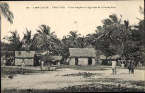 Ak Tamatave Toamasina Madagaskar, Cases indigènes du Quartier de la Pointe Hasti