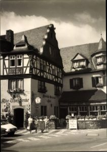 Foto Ak Cochem im Landkreis Cochem Zell Rheinland Pfalz, Alte Thorschenke