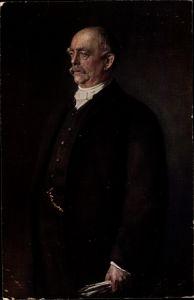 Künstler Ak Lenbach, F. von, Fürst Otto von Bismarck, Portrait
