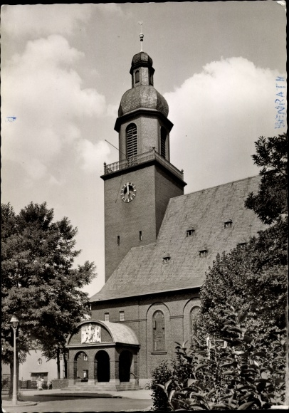 Ak Benrath Düsseldorf am Rhein, Dankeskirche