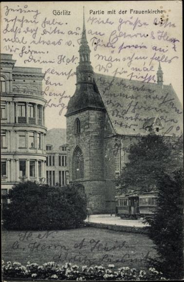 Ak Görlitz in der Lausitz, Frauenkirche