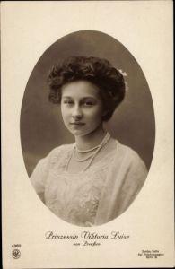 Ak Prinzessin Victoria Luise von Preußen, Portrait, NPG 4360